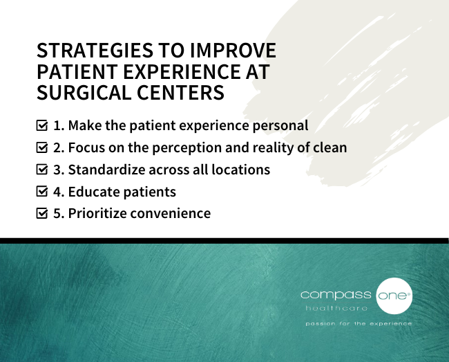 Compass One Healthcare's Strategies to Improve Patient Experience at Surgical Centers Checklist